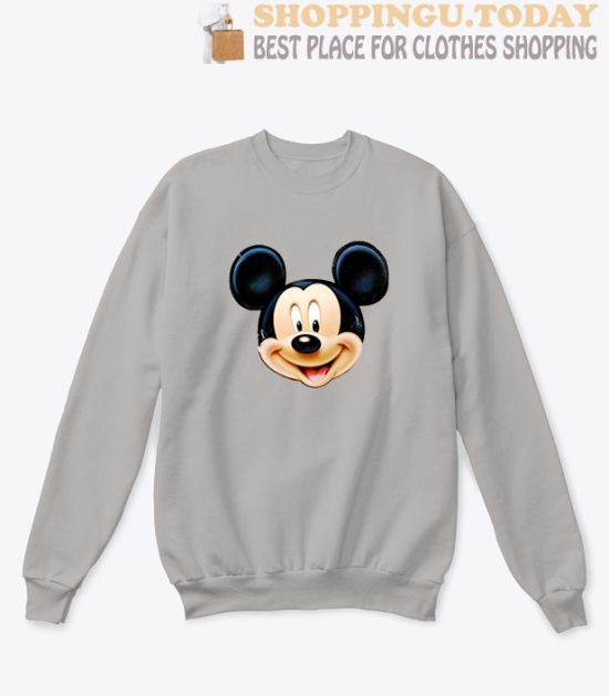 Mickey Face Sweatshirt