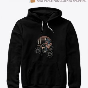 Motocross samurai no2 Hoodie