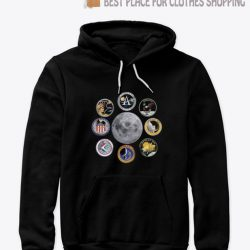 NASA Apollo Moon Landing Missions NASA Hoodie