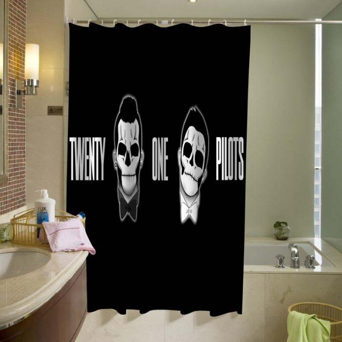 21 pilots Shower Curtain
