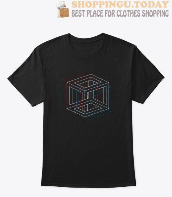3D Retro T Shirt