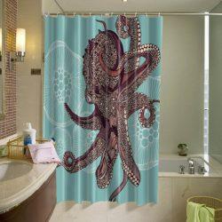 Amazing Octopus Shower Curtain