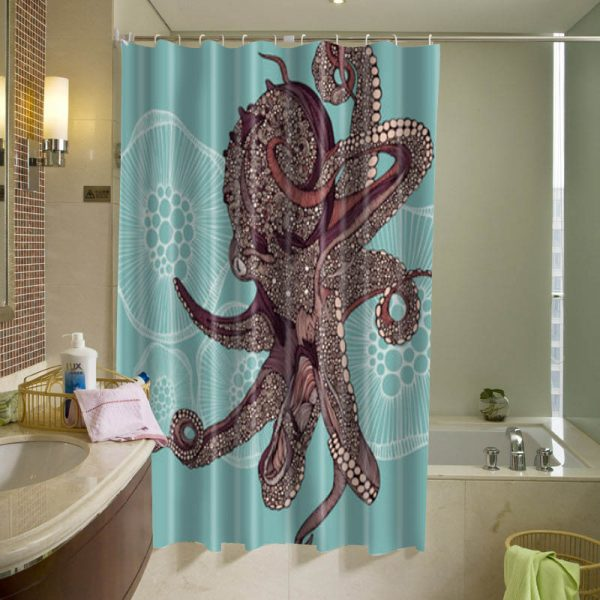 Amazing Octopus Shower Curtain
