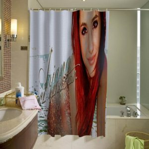 Ariana Grande Shower Curtain