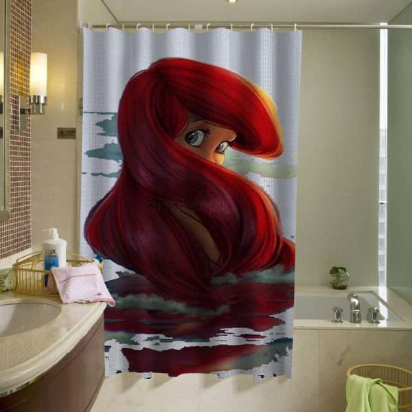 Ariel Disney shower curtain