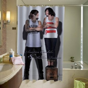 Austin Carlile & Kellin Quinn shower curtain