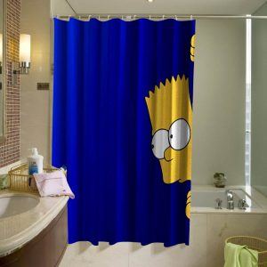 Bart Simpsons Shower Curtain