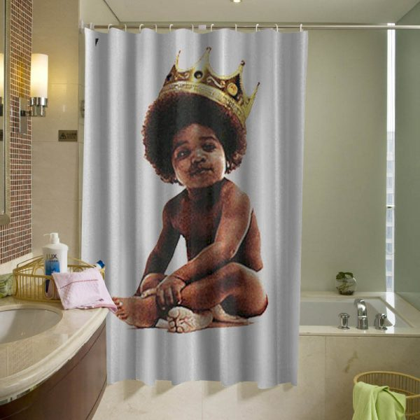 Big notorious shower curtain