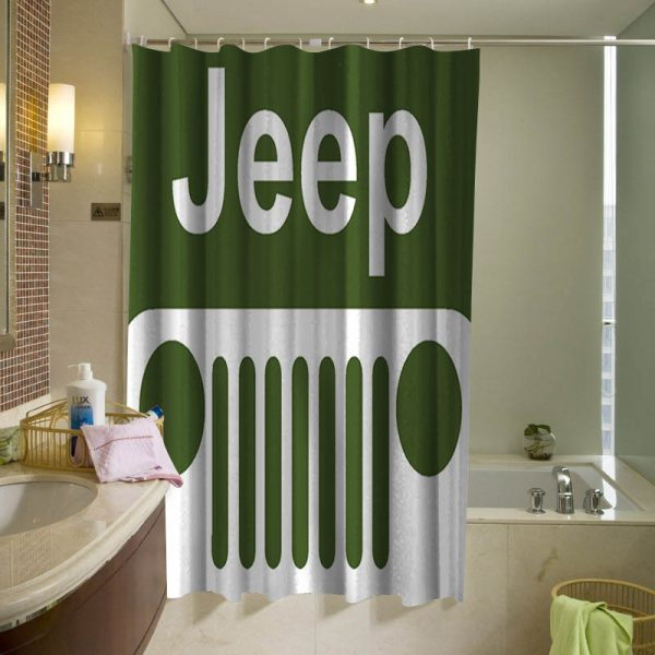 JEEP Off Road Shower Curtain