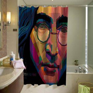 John Lennon Art Shower Curtain