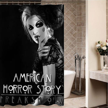 american horror story Custom Shower curtain