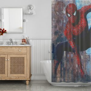 Spiderman Shower Curtain