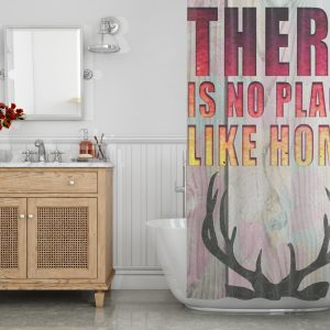There is no place Like Home Shower Curtain