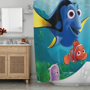 Finding Dory and Nemo Series Shower Curtain