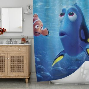 Finding Dory and Nemo Shower Curtain