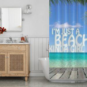I'm just a beachy kinda girl t-shirt