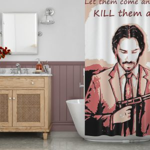 John Quote Shower Curtain
