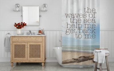 help me get back home shower curtain