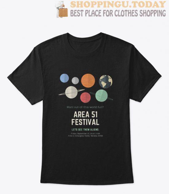 Area 51 Festival T Shirt