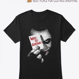 Herren Joker Why So Serious T shirt