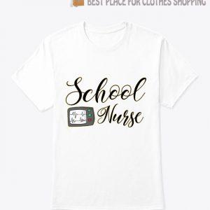 School Nurse Bella Canvas T Shirt