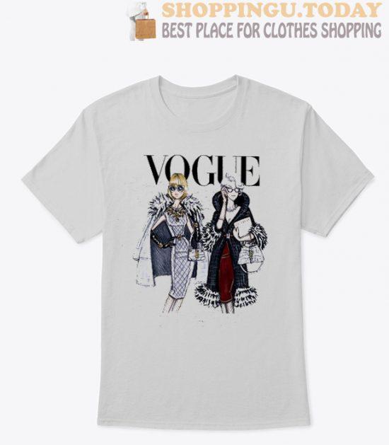Women Girl Vogue SP T Shirt
