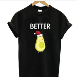 Better Half Avocados Christmas Women Her Buck and His Doe SP T-Shirt