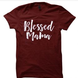 Blessed Mama Motherhood SP T-Shirt