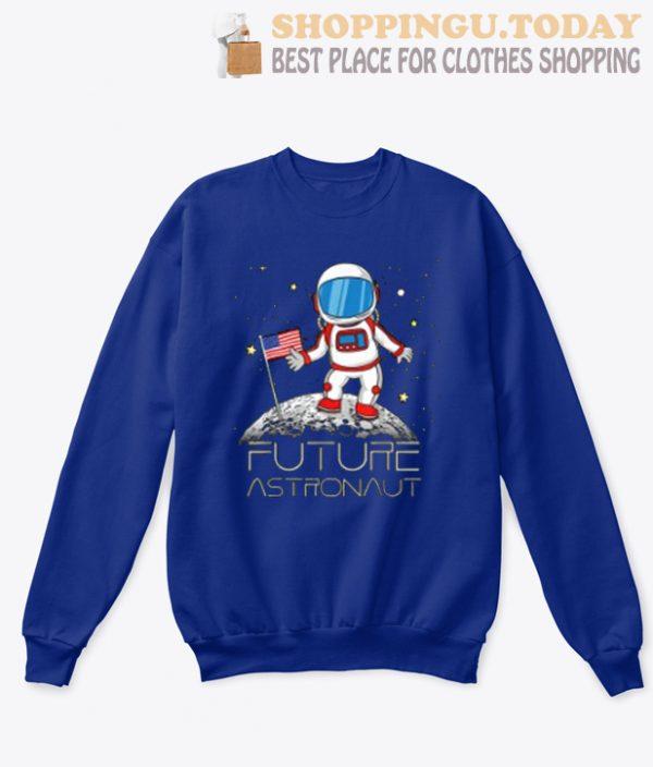 Future Astronaut Man On The Moon Astronomy SP Sweatshirt