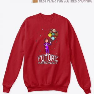 Future Astronaut With Planets SP Sweatshirt