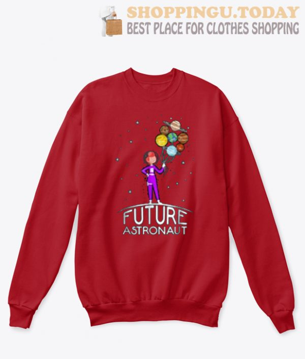 Future Astronaut With Planets SP Sweatshirt