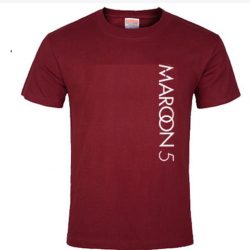 Maroon 5 red 5 SP T-Shirt