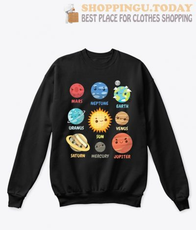 Solar System Planets SP Sweatshirt