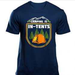 Camping is in Tents SP T-shirt