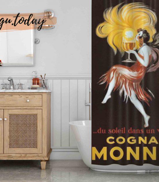 Leonetto Cappiello Cognac Monnet Shower Curtain
