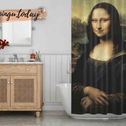 Monalisa Shower Curtain