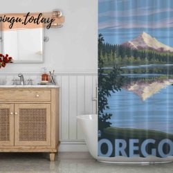 Mt Orego Shower Curtain