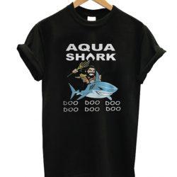 Aqua Shark Doo Doo Doo Doo Doo Doo LT T Shirt