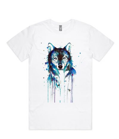 Aqua Wolf LT T Shirt