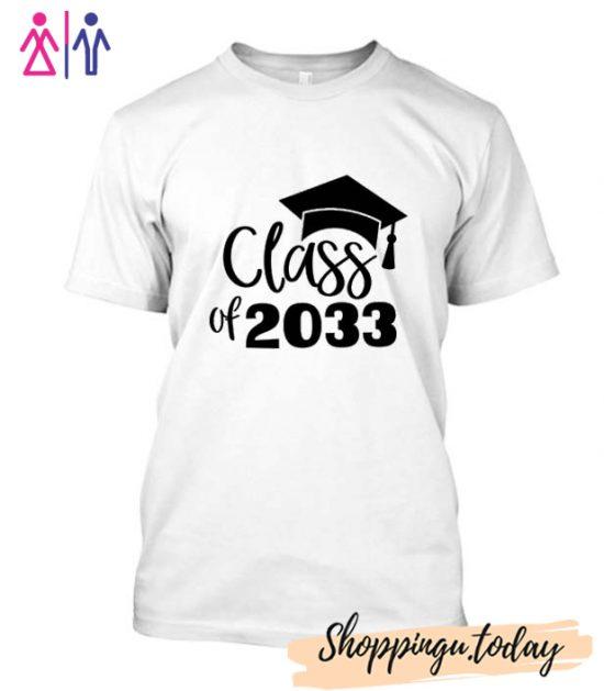 Class of 2033 T Shirt