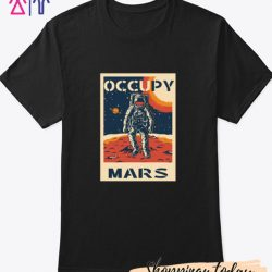 OCCUPY MARS PLANET T-Shirt