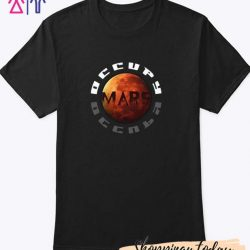 Occupy Mars Design T Shirt