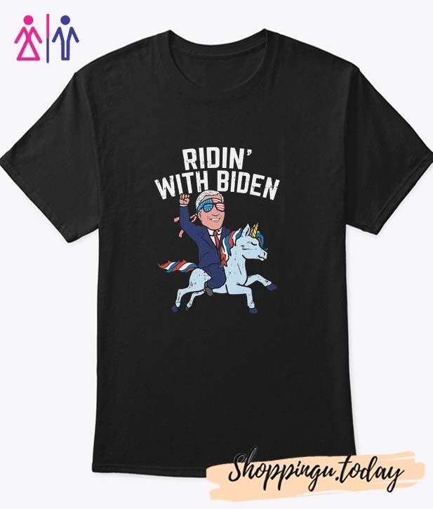 Ridin' With Biden T-Shirt