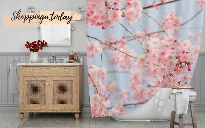 Soul Of Sakura Shower Curtain