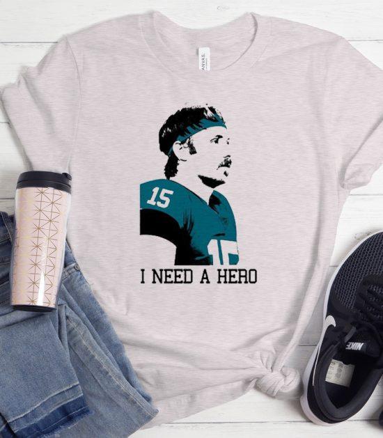 Jacksonville Jaguars I Need A Hero Cool Trending T-Shirt