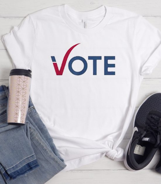 Vote Red Blue Election 2020 Graphic Cool Trending T-Shirt