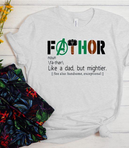 FATHOR Thor- Super Dad Cool Trending T Shirt