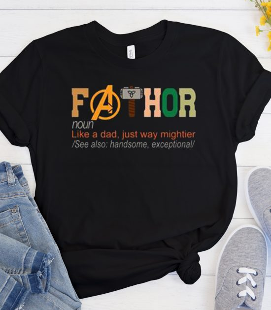 FaThor Fathers Day Cool Trending T Shirt