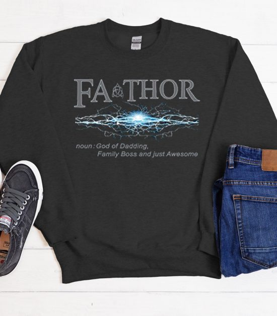 Fathor Gifts For Greatest Dad Cool Trending Sweatshirt