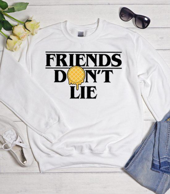 Friends Don't Lie Eggo Cool Trending Sweatshirt